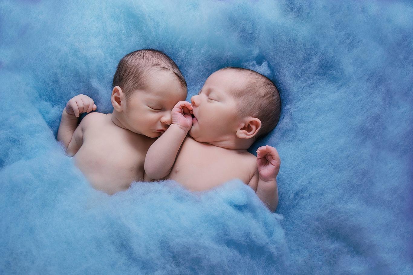 Baby-Zwillinge-Shooting